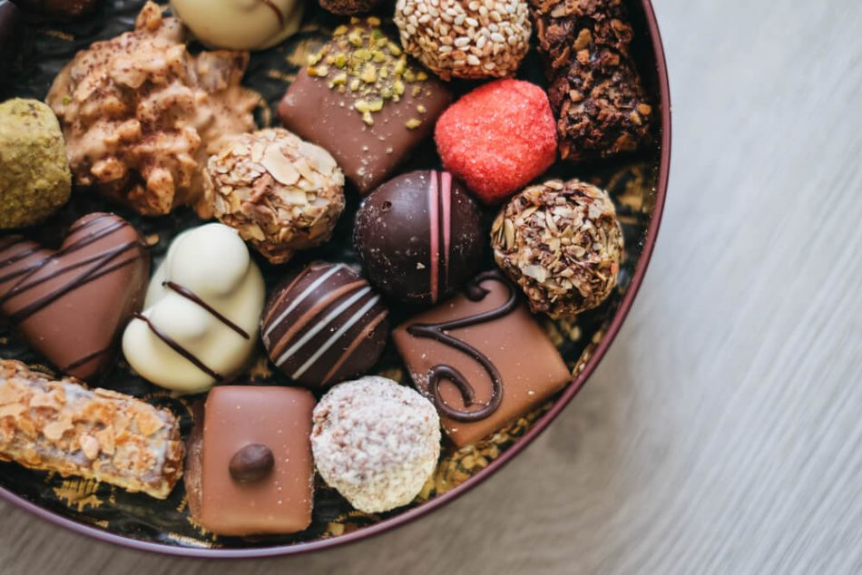 surowa czekolada
